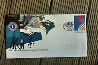 1991 LIONS  PRE STAMPED ENVELOPE ROYAL NORTH SHORE HOSPIAL PICTORIAL  POSTMARK