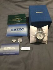 Seiko Kinetic Arctura SNG077 Men's Watch Brushed Stainless Water Resistant