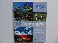 AQA A2 Geography Textbook Philip Allan Good condition