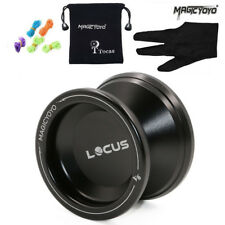 Responsive Magic Yoyo V6 Locus Spase Aluminum Metal Yoyos Ball for Beginners Kid