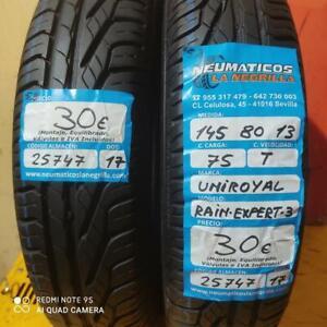 2 x 145 80 R13 75T 5.8mm+5.8mm DOT 17/17 Uniroyal Rain Expert-3 Ref. 25747