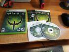 CIB Quake 4 (Microsoft Xbox 360, 2005) Complete w/ Bonus Disc *TESTED*