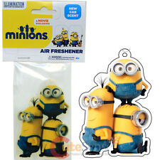 Despicable Me Minions Air Freshener Car Auto Hanging Accessories -Stacked