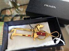 Prada Dackel  Hund Taschenanhänger Schlüsselanhänger nie getragen