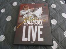 """DVD """"JOHNNY HALLYDAY : LIVE AU PAVILLON DE PARIS 1979"""" concert"""