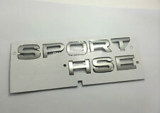 NEW SPORT HSE Emblem Range Land Rover Trunk Tailgate Badge NAMEPLATE 3M Silver