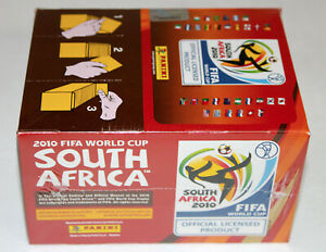 Panini Wc World Cup 2010 South Africa – Display Box 100 Bags Packets Ed. Europe