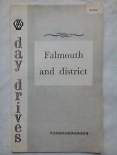 AA DAY DRIVES FALMOUTH AND DISTRICT,NEWQUAY.S/B 1961.R P 85/41.5 DRIVES,MAPS