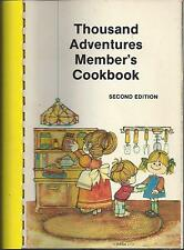 *OMAHA NE 1985 THOUSAND ADVERTURES MEMBERS STAFF & FRIENDS COOK BOOK *NEBRASKA