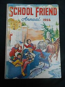 ** THE SCHOOL FRIEND ANNUAL 1956 ** Unmarked FREE UK POSTAGE