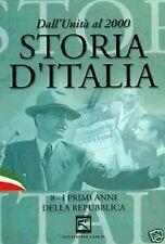 Dvd STORIA D' ITALIA I PRIMI ANNI DELLA REPUBBLICA  ....NUOVO
