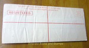 EBS New South Wales 1891 - QV Registered Envelope - 3d/4d - H&G C6b (812