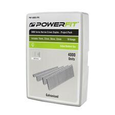 PowerFit 6000 Series Narrow Crown Project Pack Staples - 4000 Pack