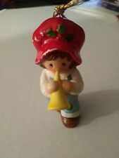 Vintage 1982 Holly Hobbie Hobby Christmas Ornament Red Hat
