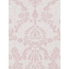 Designers Guild Flocked WALLPAPER PORTIA P607/03 Shell Pink NEW
