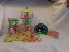 LPS Littlest Pet Shop Whirl Around Playground Playset + Petriplets +  Pets +