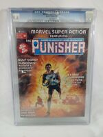 1976 Marvel Super Action 1 CGC 9.4 ~WHITE PAGES~ PUNISHER ~ DOMINIC FORTUNE