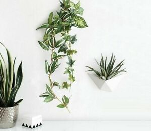 Decorative Hanging Wall Vase DIY Flower Pot For Wall Decoration Home Accessories