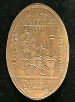 Rare SYDNEY 2000 Olympics Games Medallion Overstruck on Pre Decimal 1948 Penny
