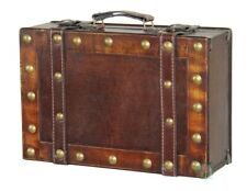 New Vintiquewise Antique Style Small Suitcase, QI003067