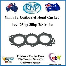 A Brand New Head Gasket Suits Yamaha 3cyl 25hp-30hp 2/Stroke # 6J8-11181-00