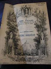Partition Enfants et Fleurs Mois de Marie Mai 1921 Music Sheet