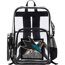San Jose Sharks The Northwest Company Dimension Clear Backpack