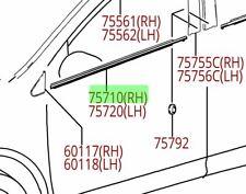 Toyota Rav4 13 - 18 Front Passenger Side Molding Weatherstrip Genuine OEM