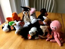 Vintage Beanie Babies with Ty Tag (1993 - 1998) - You Pick