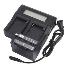 DSTE NP-F970 With Dual Battery Charger for Sony CCD-TR200 CCD-TRV101 YN300 III