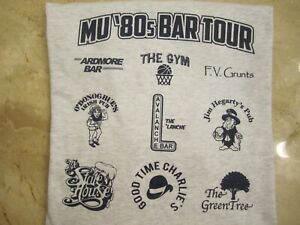 Marquette University Warriors classic 80s bars t-shirt FREE SHIPPING