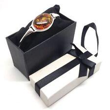 Amber Bangle Fine Bracelets