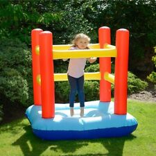 Fun Factory Young Childrens Small Bouncy Castle Age 3 Max 65kg - Ah 56429