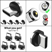 Magnetic Connector Tips Head for Type C Android Devices (5 Pack)