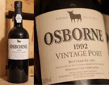 1992er Osborne - Vintage Port - Top Jahrgang  *****