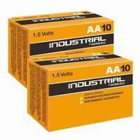 20 x Industrial By Duracell AA PC1500 LR6 Batteries 1.5V MN1500 EXP 2023 PROCELL