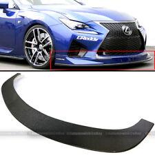 "For Camaro 63"" JDM Racing Carbon Fiber Front Bumper Lip Splitter Lower Spoiler"
