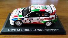 1:43 TOYOTA Corolla WRC SAINZ 1999 Australia Rally Race Motorsport