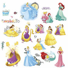 DISNEY PRINCESS 25 Wall Decals FRIENDSHIP ADVENTURES Room Decor Sticker RAPUNZEL