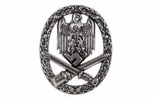 REPLICA MILITARY GERMAN SS  BADGE SOLID METAL  NICKEL COLOUR HIGH QUALITY -NEW
