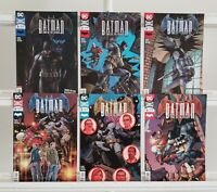 Batman Sins Of The Father 1 2 3 4 5 6 DC 2018 Set Series Run Lot 1-6 FN