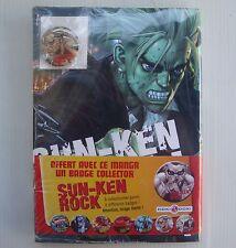 BD livre manga Sun Ken Rock Volume 5 avec badge Boichi Bamboo Doki Doki NEUF