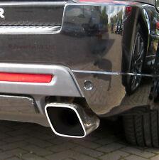 SCARICHI coda suggerimenti TUBI Range Rover Sport autobiografia Diesel in acciaio inox