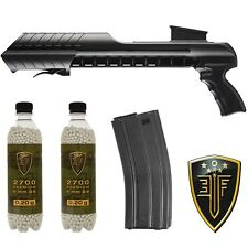 Elite Force SL14 6mm Airsoft Speed Loader w/ 140 Rd Mid-Cap Mag & 5400 .20g BBs