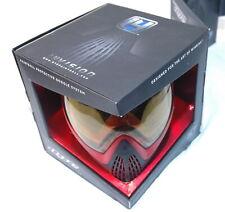 Dye i4 Red / Black Paintball Mask - Amber Lens