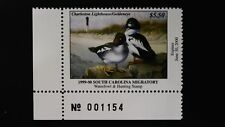 DR JIM STAMPS US STATE DUCK $5.50 SOUTH CAROLINA WATERFOWL SC-19 MINT NH 1999