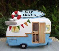 Miniature Dollhouse FAIRY GARDEN ~ Mini BEACH Sea Surf Shack Camper House ~ NEW