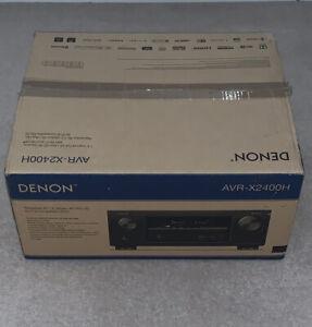 Denon AVR-X2400H 7.2ch AV Receiver Wi-Fi Dolby Atmos 4K UHD Bluetooth 8xHDMI