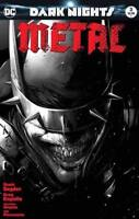 Dark Nights Metal #3 NM or better Francesco Mattina B&W Black and White LTD 1500