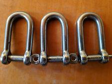 Wichard long shackles self locking 8mm - 1214 - lot of 3